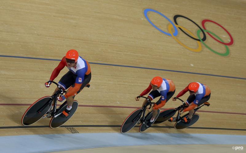 Teamsprinters al klaar op Olympische Spelen (Pro Shots / Action Images)