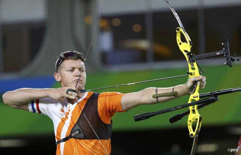 Van den Berg in actie tijdens een eerdere ronde. (Pro Shots/Action Images)