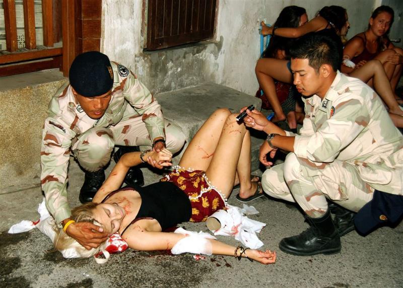 Weer bomaanslagen in Thailand