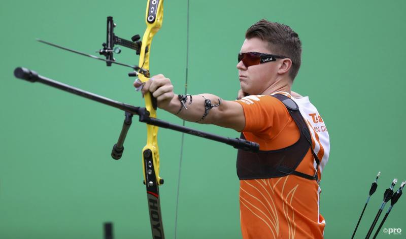Van den Berg halvefinalist na winst op Koreaan (PRO SHOTS/Action Images)