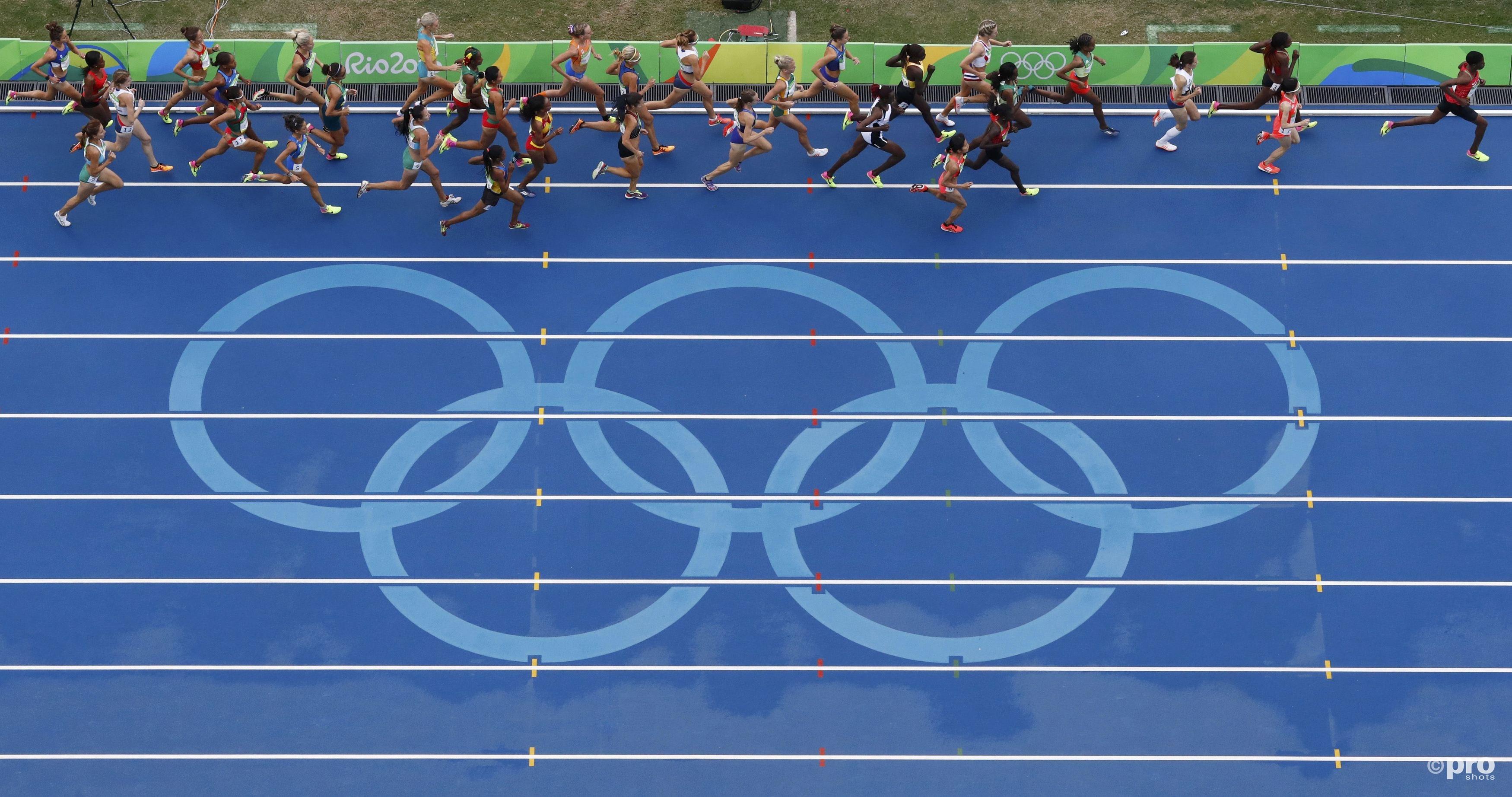 Het was een flink startveld op de 10km in Rio (PROSHOTS/Action Images)