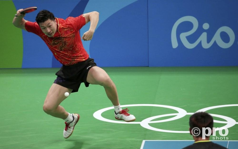 Ma Long werkt zich een weg naar olympisch goud (PROSHOTS/Action Images)