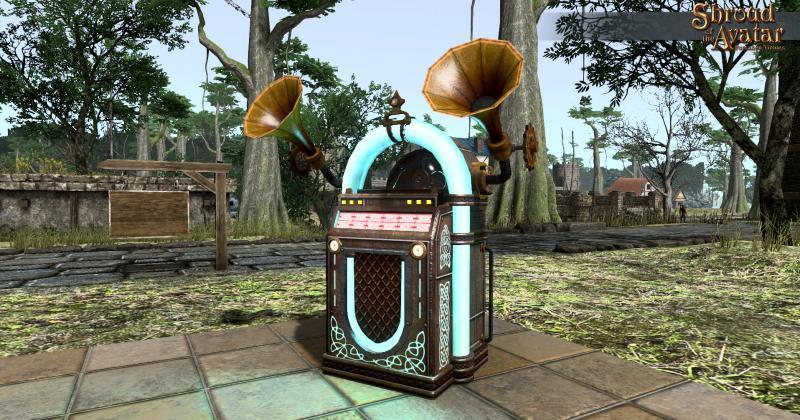 Shroud of the Avatar: Forsaken Virtues - jukebox