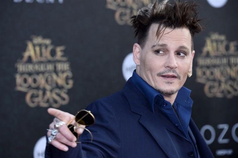 Johnny Depp opgelucht na scheiding