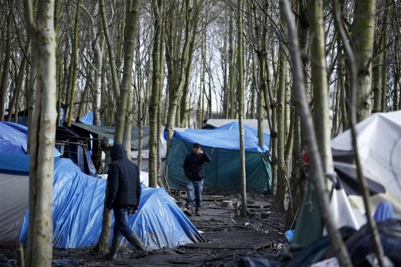 Bevolking 'Jungle' bij Calais weer toegenomen