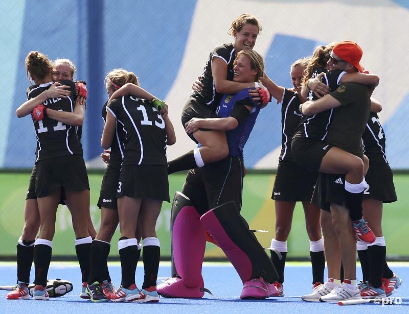 Duitse hockeyvrouwen pakken brons (Pro Shots / Action Images)