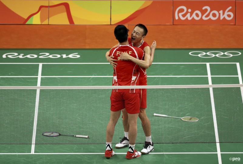 Fu/Zhang pakken dubbeltitel badminton (Pro Shots / Action Images)