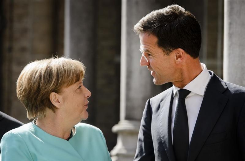 Overleg Rutte en Merkel over brexit