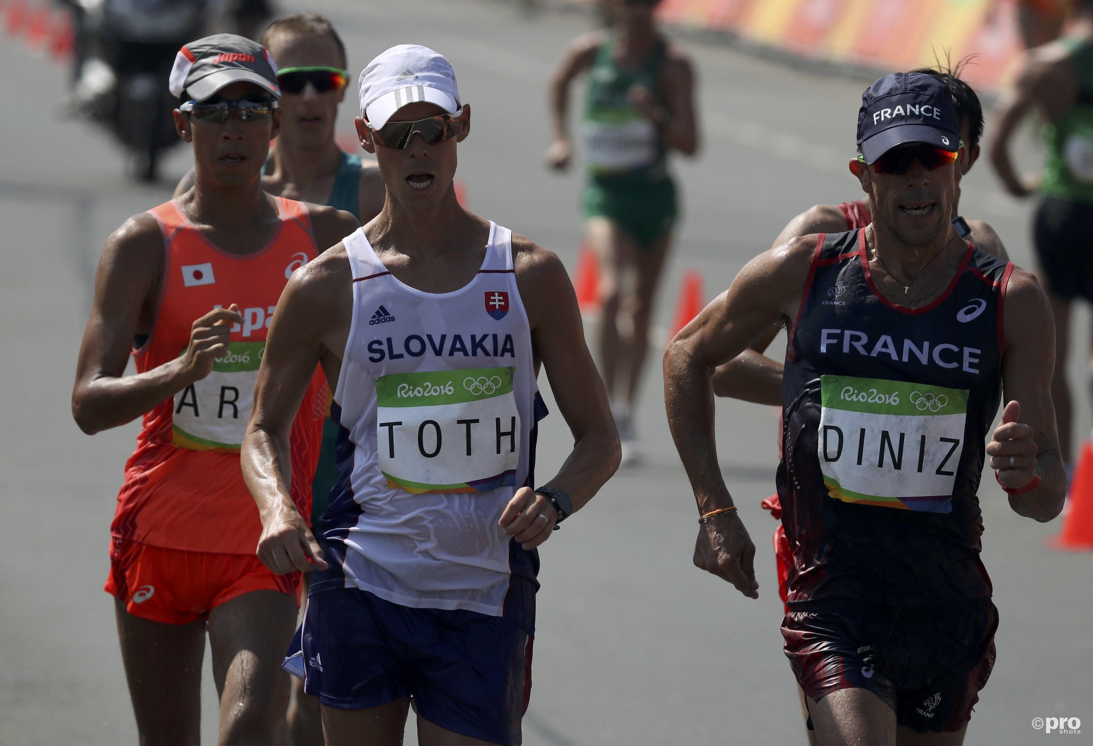 Toth deelde zijn wedstrijd perfect in en wandelde naar goud (PROSHOTS/Action Images)