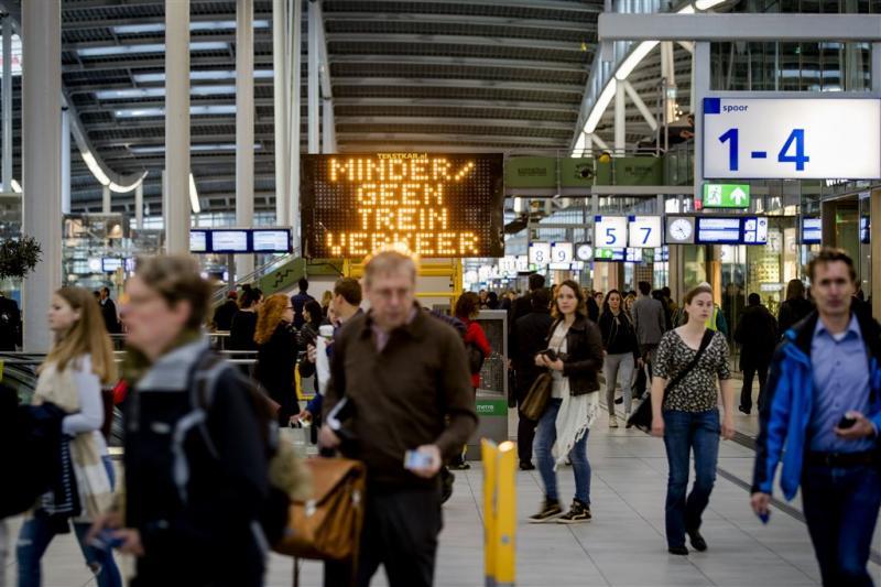 NS: meer reizigers op tijd aangekomen