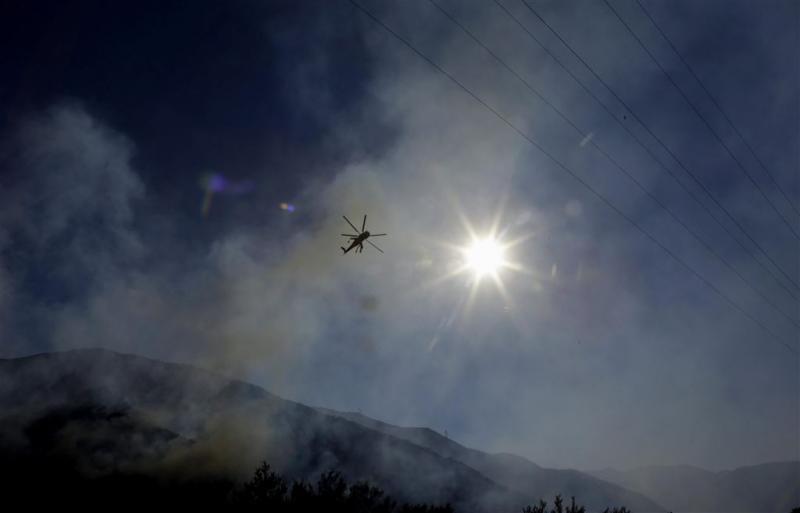 Natuurbrand Californië verder teruggedrongen