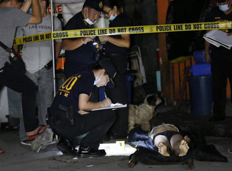 1800 drugsdoden Filipijnen na 'war on drugs'