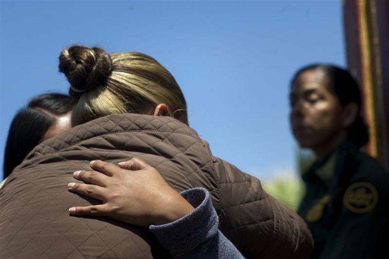 Meer kinderen alleen aan de grens met de VS