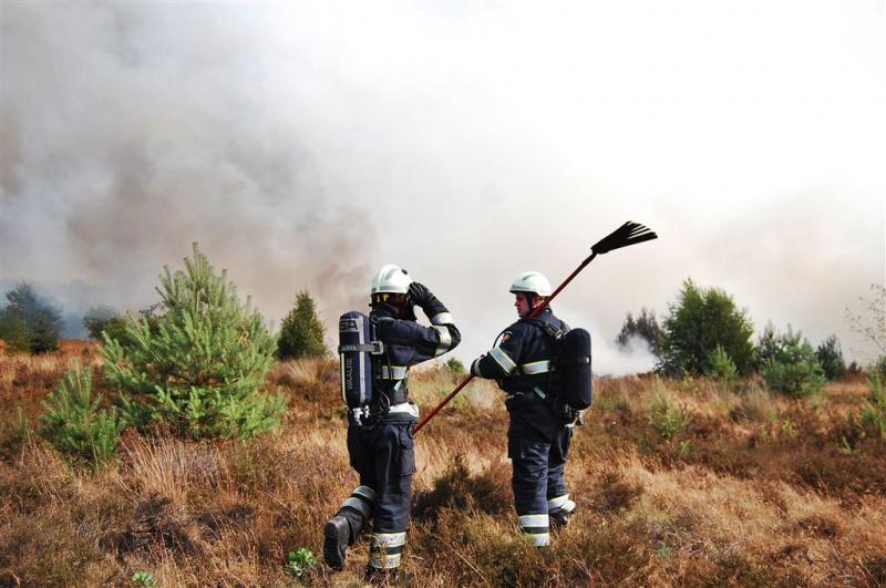Natuurbrandgevaar neemt toe in delen land