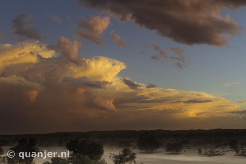 Onweersbui in Zuid-Afrika (Foto: Duco)