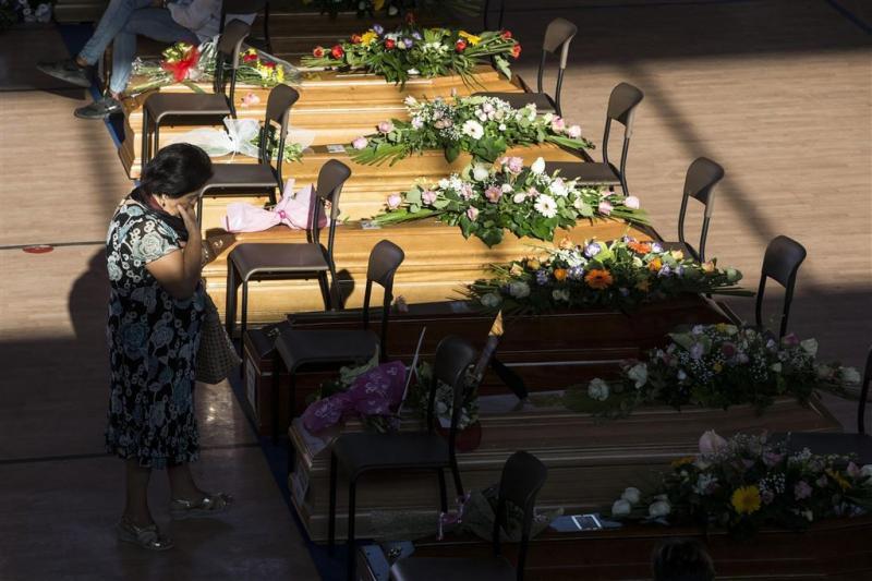Zeker zestien buitenlandse slachtoffers Italië