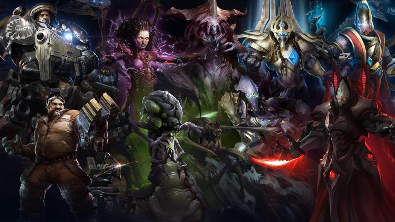 StarCraft 2 @gamescom (Foto: Blizzard)