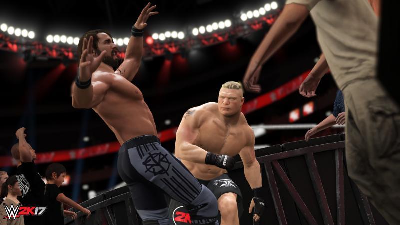 WWE 2K17 @gamescom (Foto: 2K Games)