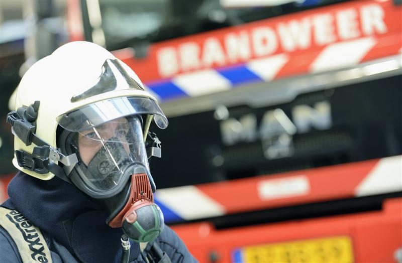 Brand verwoest loods van kwekerij in Nuenen
