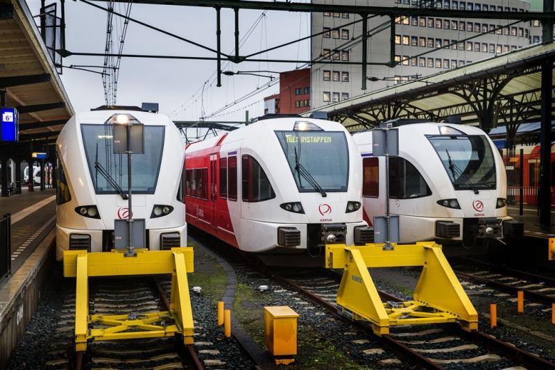 Tientallen treinen uitgevallen door actie