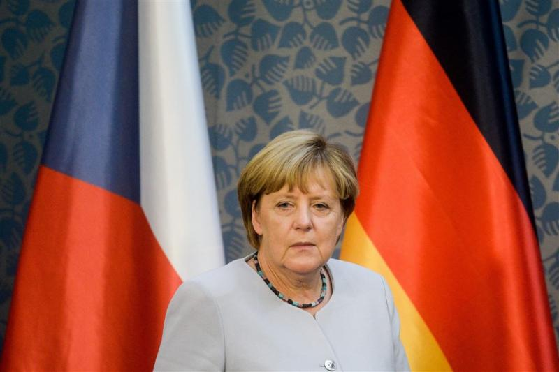 Populariteit Merkel op dieptepunt