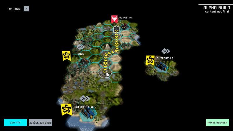 Shock Tactics - De wereldkaart