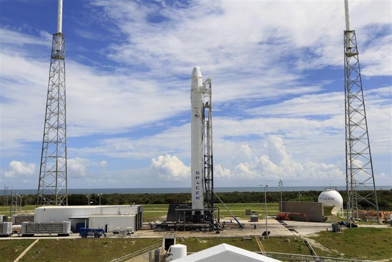 Raket ontploft op Cape Canaveral