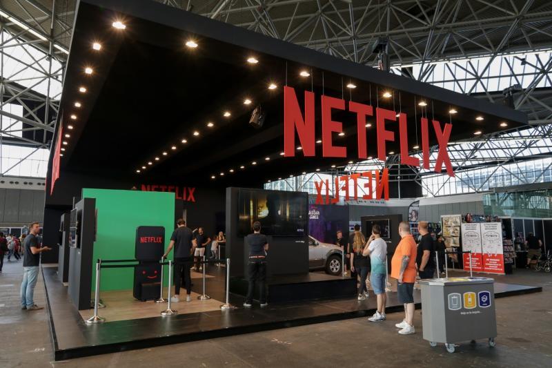 Netflix pakte flink uit met de grootste stand op de hele con, waar activiteiten gebaseerd op hun Marvel series konden worden gedaan (Foto: Yuen Li)