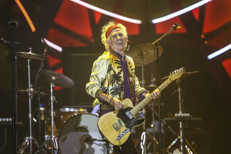 Keith Richards even de baas over BBC Four