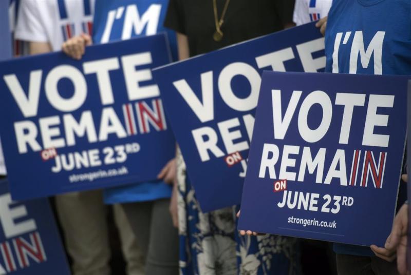 Britse 'remainers' nog maar eens de straat op