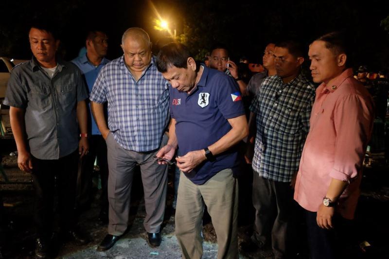 Duterte stelt 'wetteloosheid' in na explosie