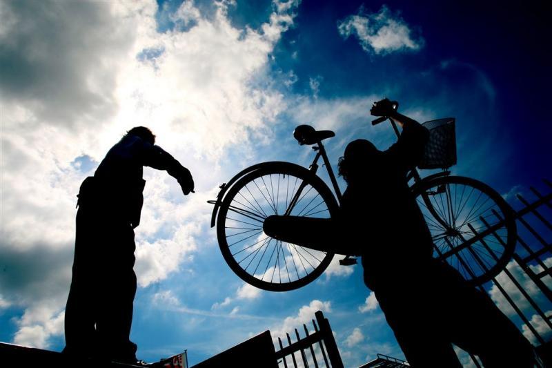 Rovershol fietsendieven ontdekt