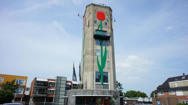 Watertoren Roelofarendsveen (Foto: Funda)