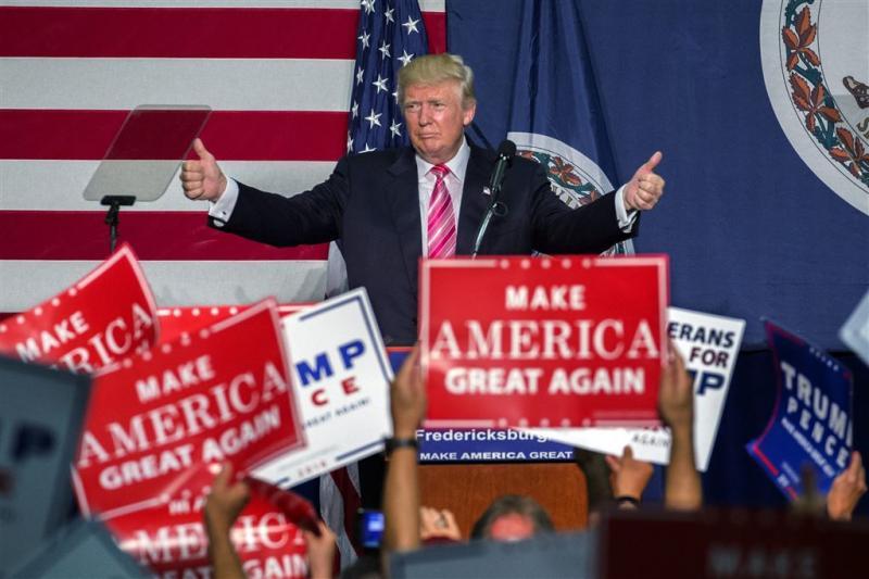 Trump wil Syrische vluchtelingen weren