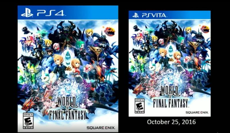 World of Final Fantasy packshot
