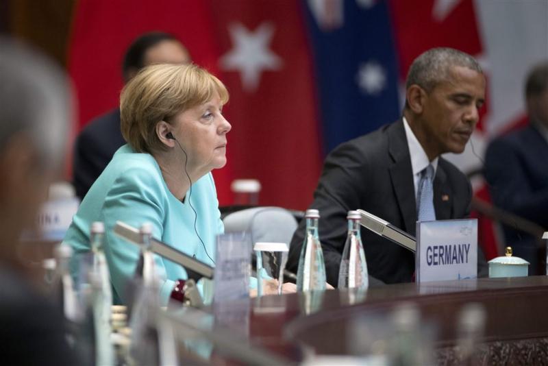 Merkel 'zeer ontevreden' met stembusuitslag