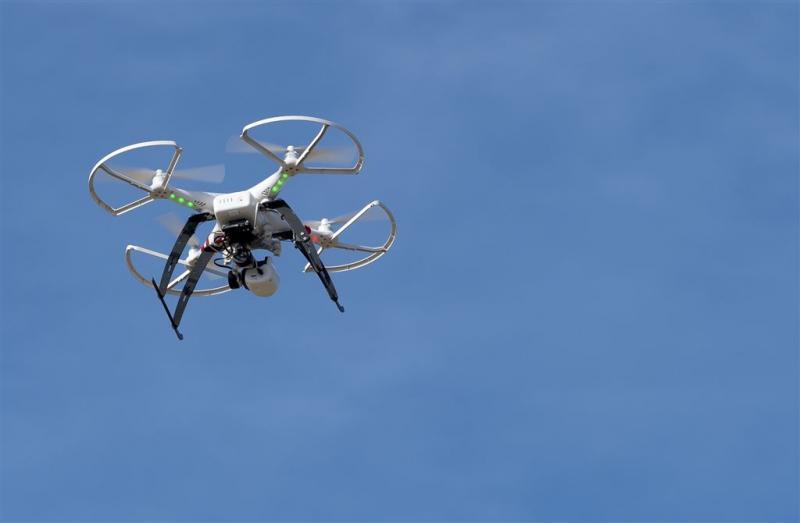Bijna verdronken voor drone-foto
