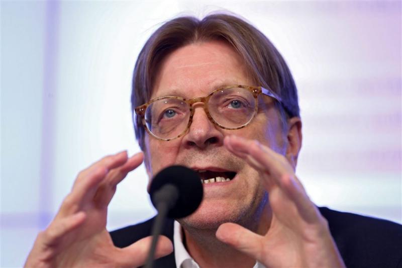 Verhofstadt gaat onderhandelen over brexit