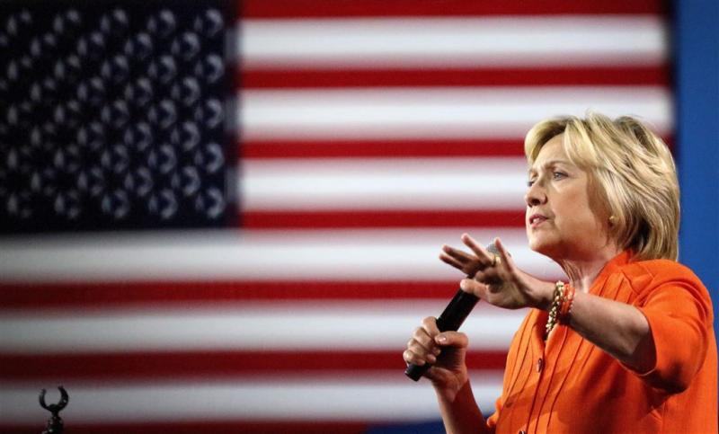 Clinton eerder weg bij herdenking 9/11