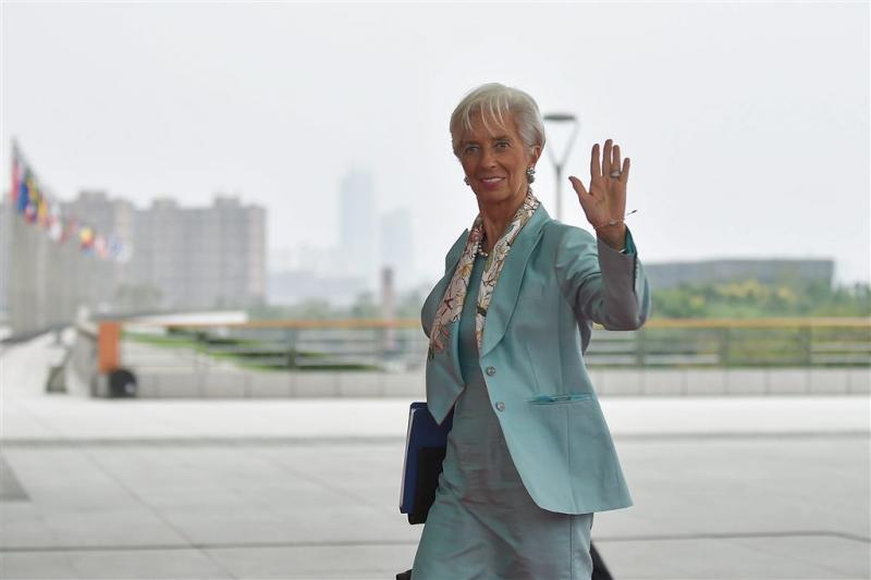 Lagarde op 12 december voor rechter