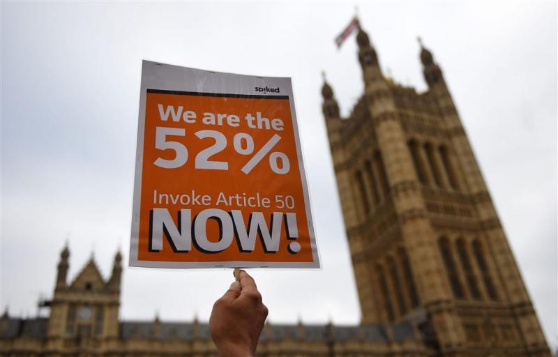 Londen houdt brexit-kaarten tegen de borst