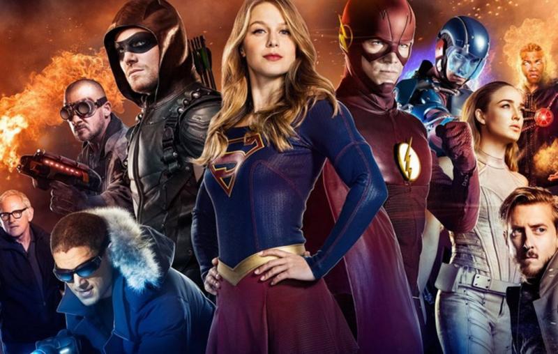 DCTV ensemble: Arrow, Supergirl, Flash en Legends of Tomorrow