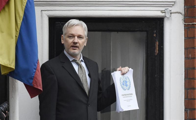 Assange wordt 17 oktober verhoord