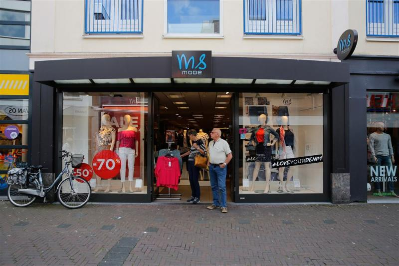MS Mode vraagt faillissement in België aan