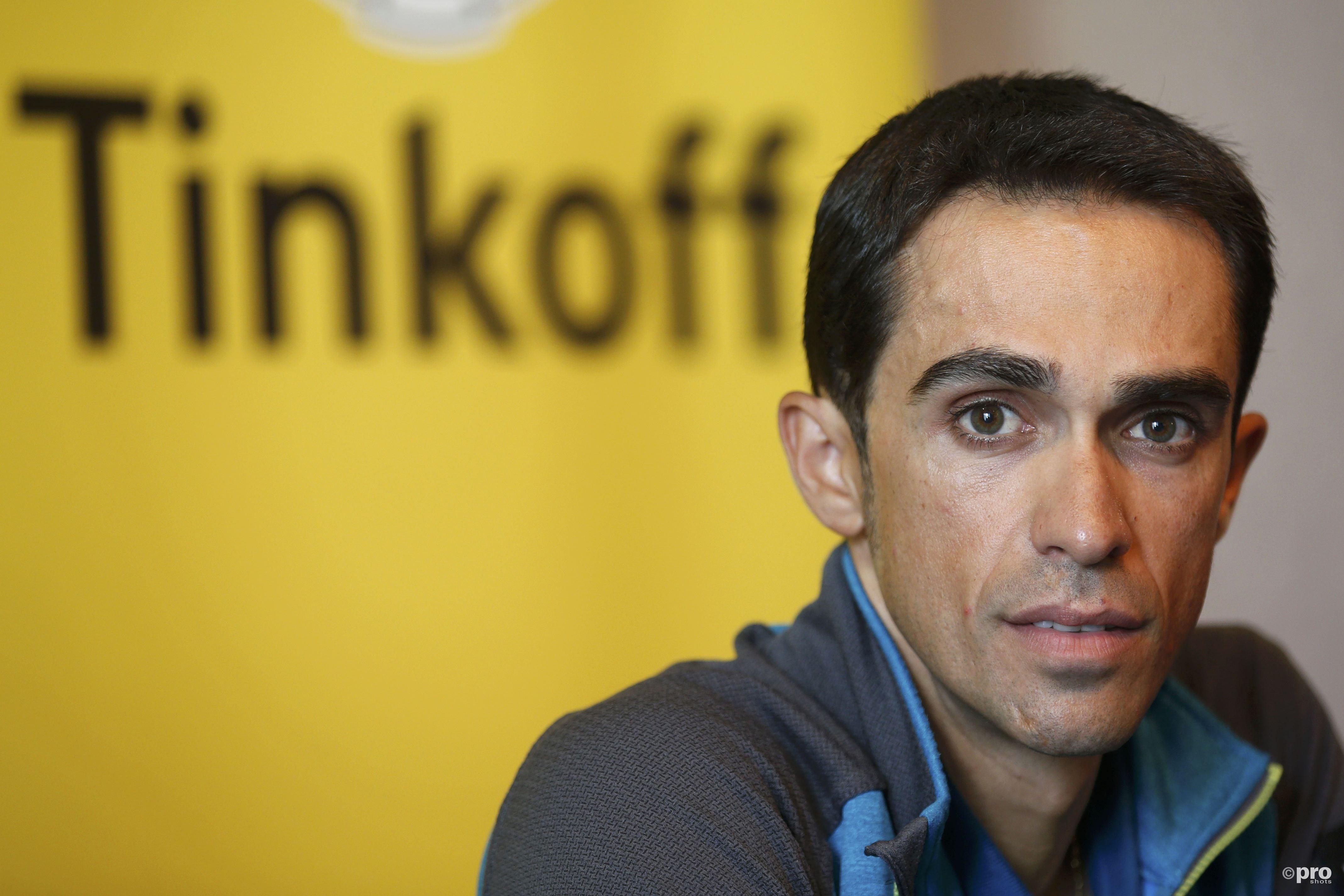 Alberto Contador volgend jaar op jacht naar de gele trui voor Trek-Segafredo. (PRO SHOTS/Action Images)