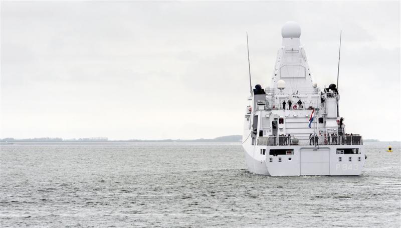 Nederlandse marine onderschept 2 ton cocaïne