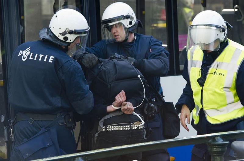 Politie pakt veertien krakers op