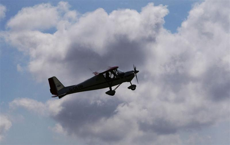 Vier doden bij botsing sportvliegtuigjes