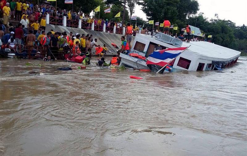 Scheepsongeluk Thaise rivier eist 12 levens