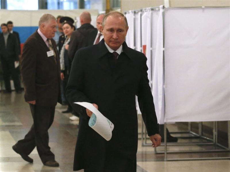 Nationalisten Kiev hinderen Russische kiezers